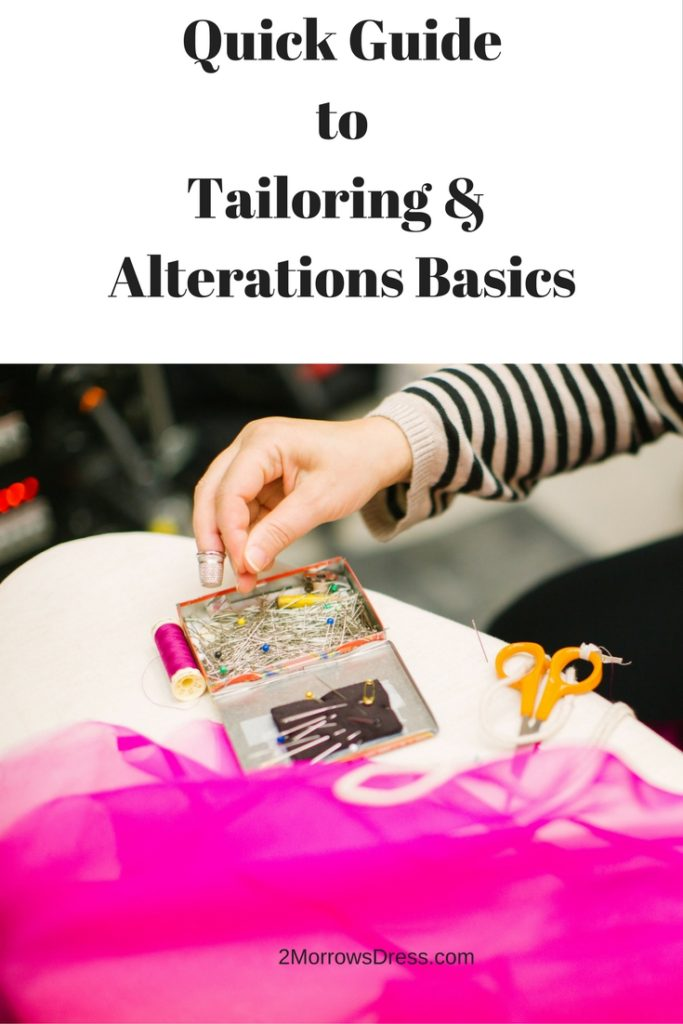 Quick Guide to Tailoring and Alterations Basics