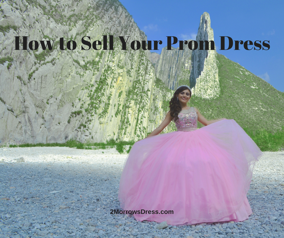 How to Sell Your Prom Dress