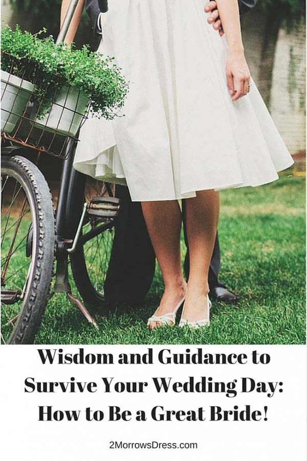 How to Be a Great Bride