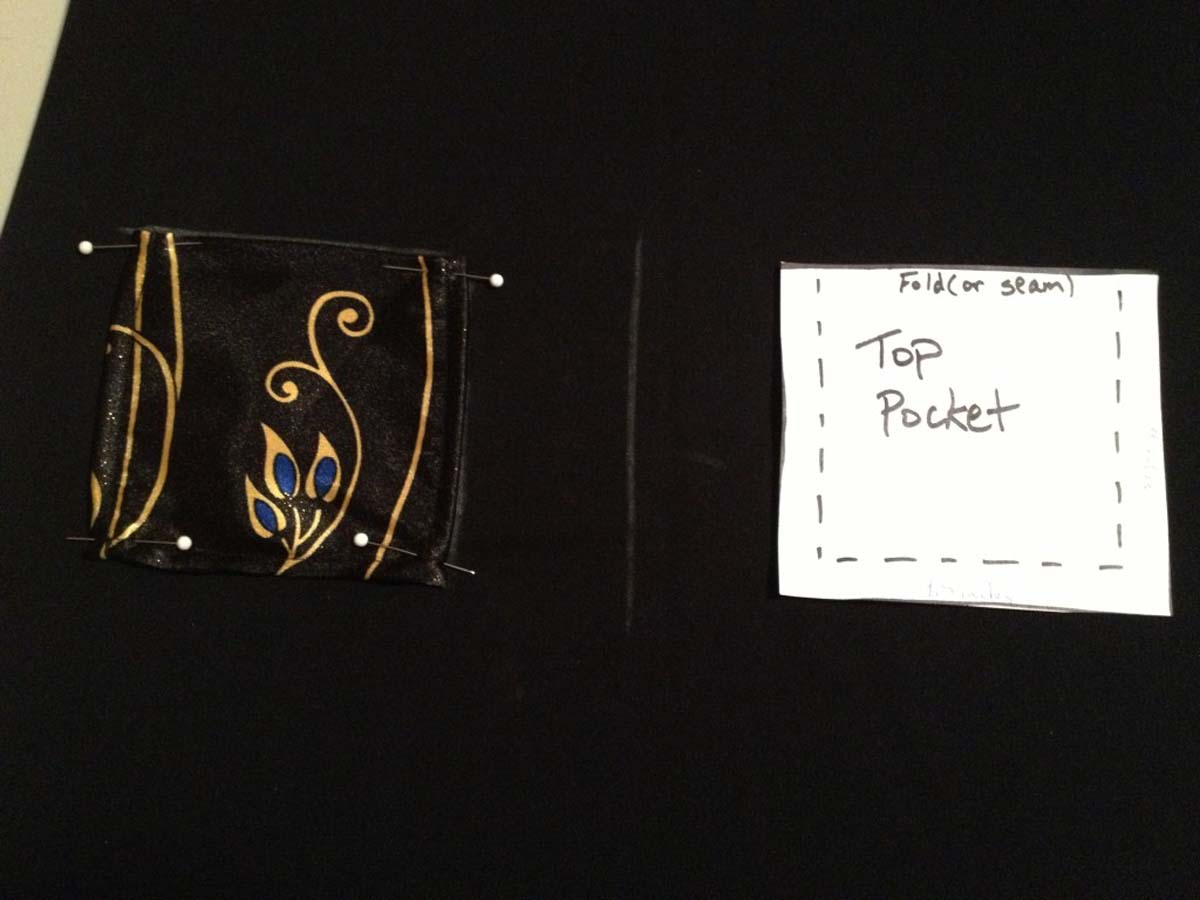 Top pocket pattern and example
