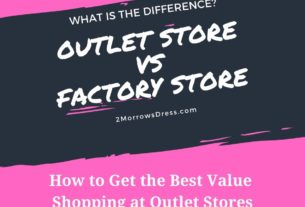 What is the difference between an Outlet vs Factory Store?