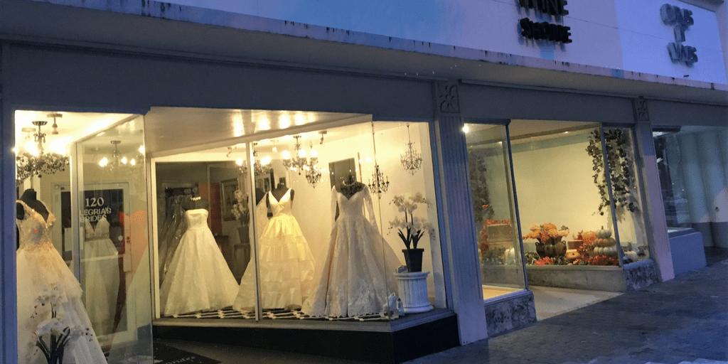 Bridal Shop store front