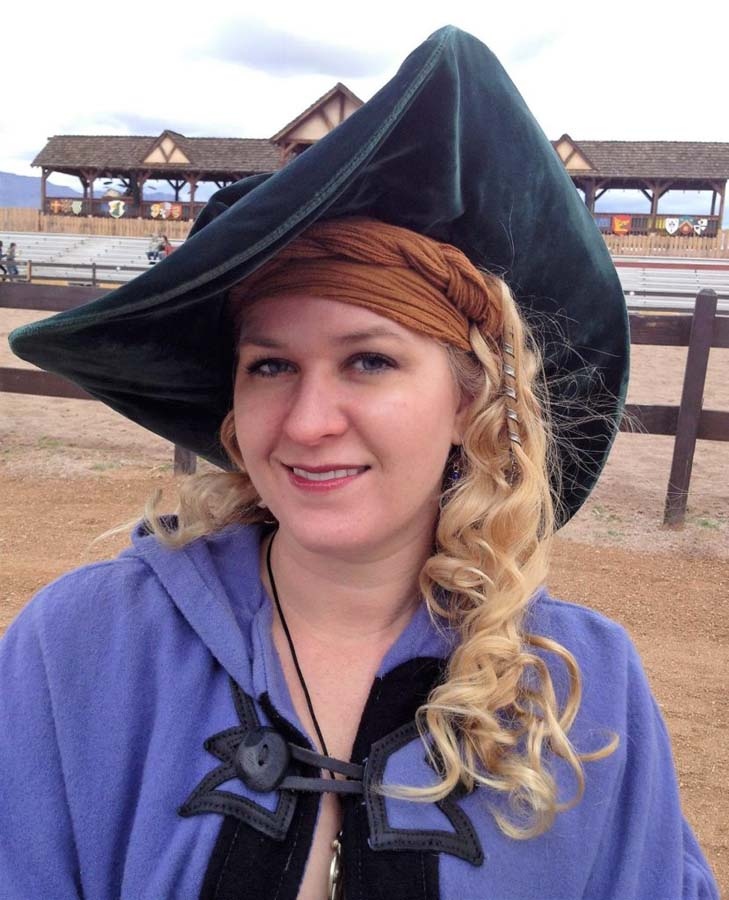 Ren Faire Cloak and Hat