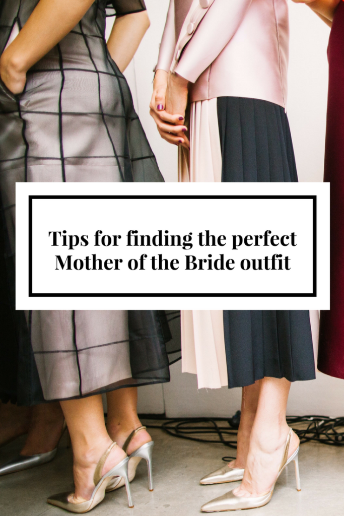 Finding the perfect Mother of the Bride outfit