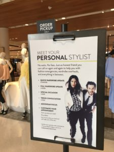 Personal Stylist sign