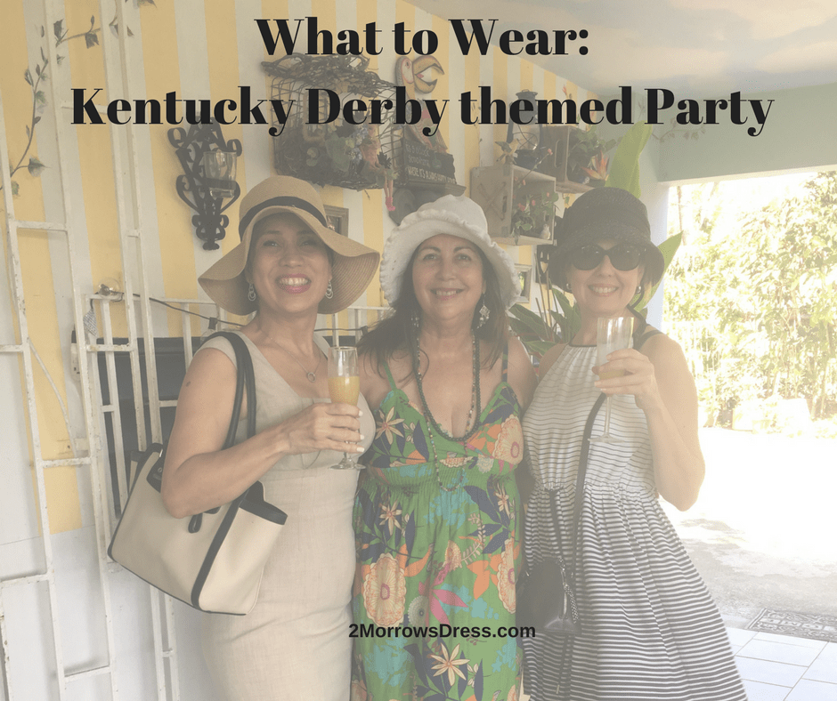 What To Wear Kentucky Derby Themed Party 2morrows Dress
