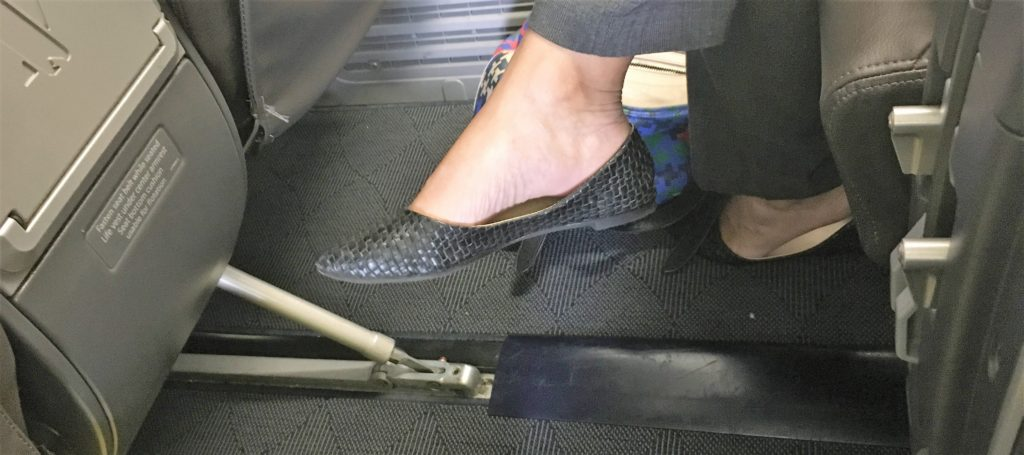 Cute stylish flats air travel