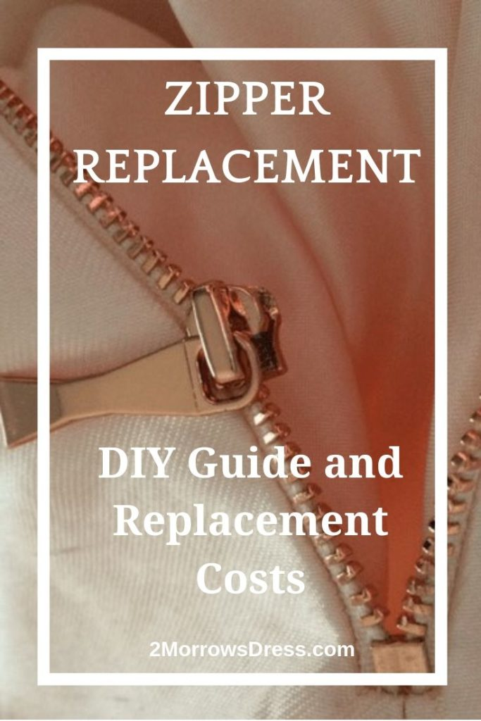 Zipper Replacement - DIY Guide and Replacement Costs