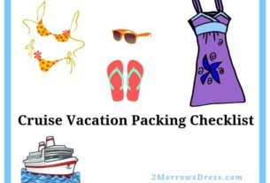 Cruise Vacation Ultimate Packing Checklist for Clothes, Documents, Toiletries, Medications, and More!