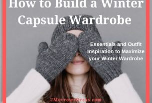 How to Build a Winter Capsule Wardrobe with 2MorrowsDress