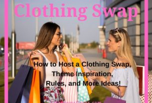 Clothing Swap Party - How to host a clothing swap event, theme inspiration, rules for the clothing sap, and more ideas for eco-friendly fashion.